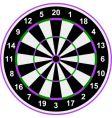 classical darts vector image