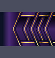 luxury purple background with overlap layer vector image vector image