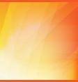 orange dynamic background vector image vector image
