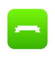 ribbon icon digital green vector image vector image