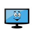 Television screen or computer monitor vector image
