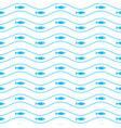 geometric simple minimalistic marine pattern vector image