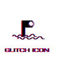 periscope icon flat vector image vector image