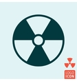 Radiation icon isolated vector image