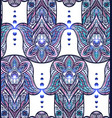 seamless texture with a hamsa and boho pattern on vector image vector image