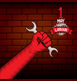 1 may - happy labour day happy labour day vector image vector image