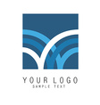 Abstract sign icon vector image vector image