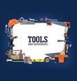 construction home repair tools shop banner