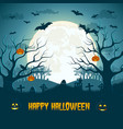 happy halloween composition vector image