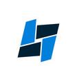 letter o concept logo icon vector image