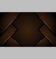 luxurious dark brown background design vector image vector image