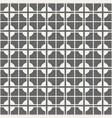 seamless abstract modern cross pattern vector image