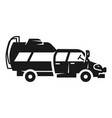 family car camp icon simple style vector image vector image