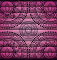 mandala background decorative motif floral vector image