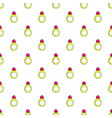 princess ring pattern seamless vector image vector image