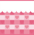 cute pattern background vector image