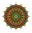 beautiful vintage mandala vector image vector image