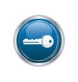 Key icon vector image vector image