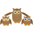 Mom owl vector | Price: 1 Credit (USD $1)