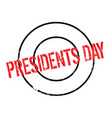 presidents day rubber stamp vector image