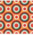 seamless circles polka dots pattern vector image vector image
