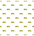 side of school bus pattern seamless vector image vector image