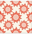 sun ornamental vector image
