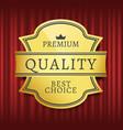 best choice high quality premium mark vector image