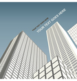 City architecture vector image vector image