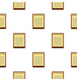 clean lined sheet of notepad pattern seamless vector image vector image