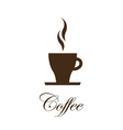 Coffe cup image - design element vector image