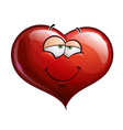 Heart Faces In Love vector image vector image