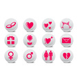 Love buttons vector | Price: 1 Credit (USD $1)