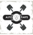 Machine icon Auto part design graphic vector image vector image