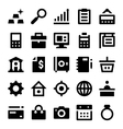 Shopping and Retail Icons 4 vector image vector image