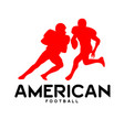 sport american football background image vector image vector image