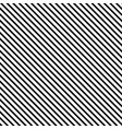 striped seamless pattern with diagonal line black vector image