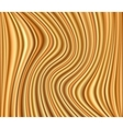 Abstract gold background luxury cloth wave vector image