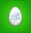 artistic easter eggs floral 1 vector image vector image