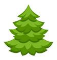 colorful cartoon christmas tree vector image vector image