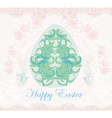 Easter Egg On Grunge Background vector image vector image