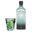 gin and tonic vector image vector image