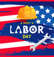 labor day background design template graphic or vector image vector image