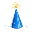party cap for birthday vector image