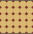 retro seamless pattern encaustic classic tiles vector image