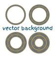 road asphalt straight seamless vector image vector image