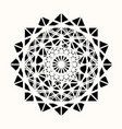 sacred geometry 0088 vector image vector image