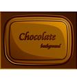 Stylish chocolate bar