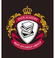 Academy Emblem vector image