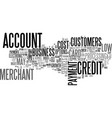 a low cost merchant account text word cloud vector image vector image